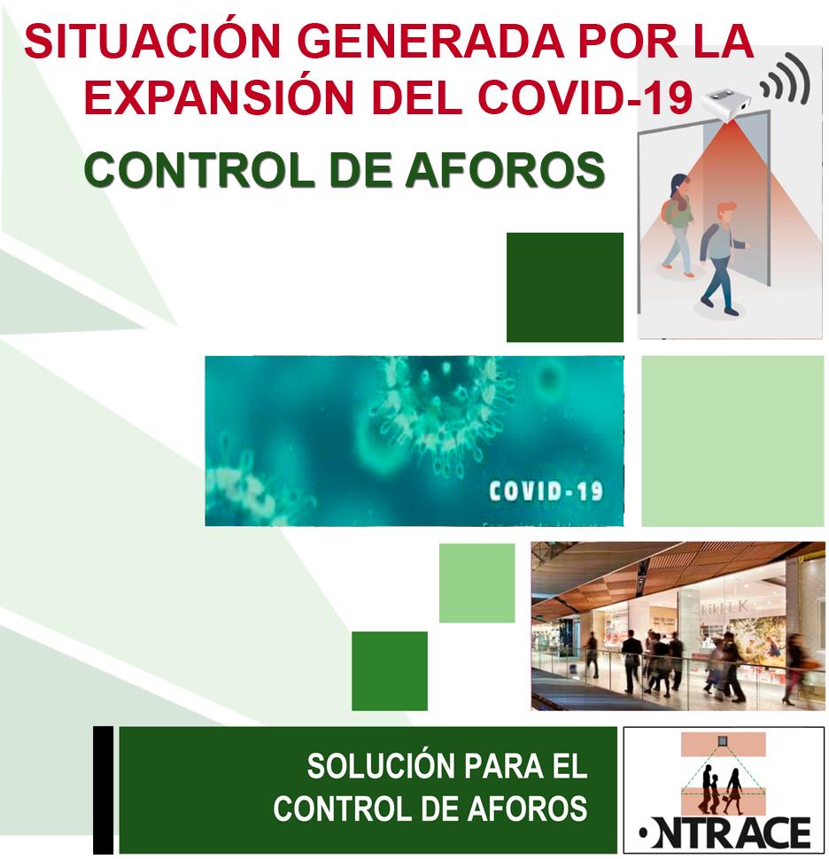 Solución Covid-19 control de aforos