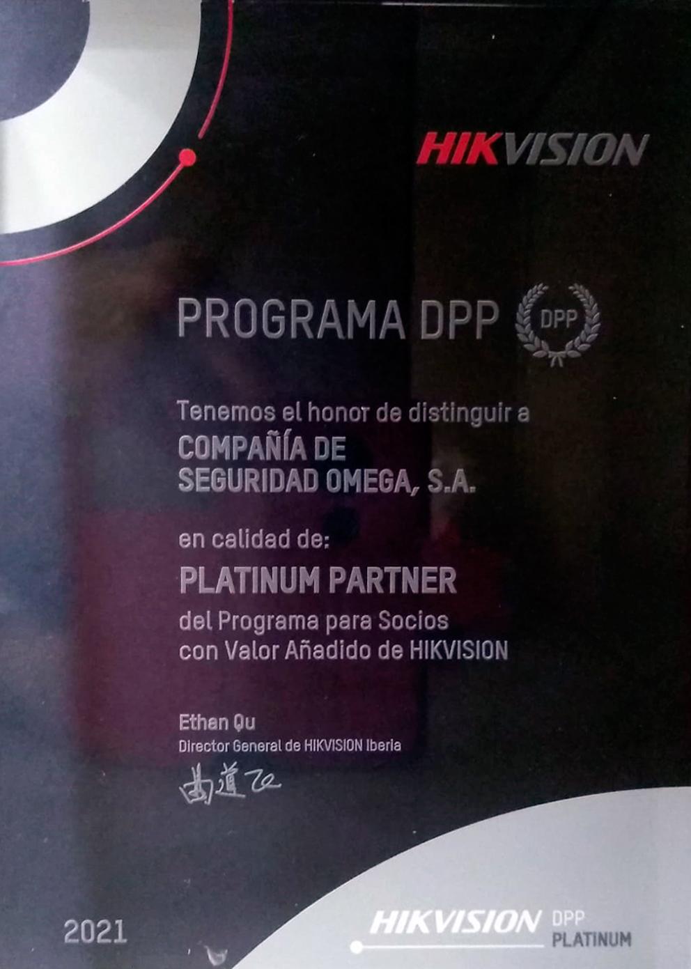 Distinción Platinium Partner
